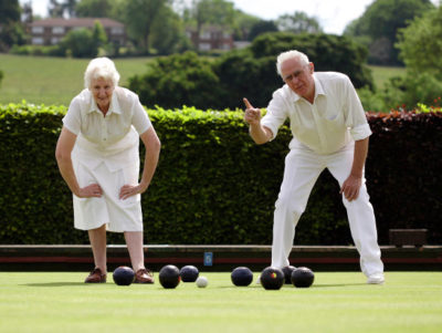 types of sports and exercises for senior independent living