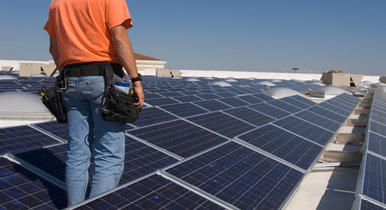 senior living communities are using solar panels and other green technology