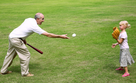 wiffle ball is good for senior living