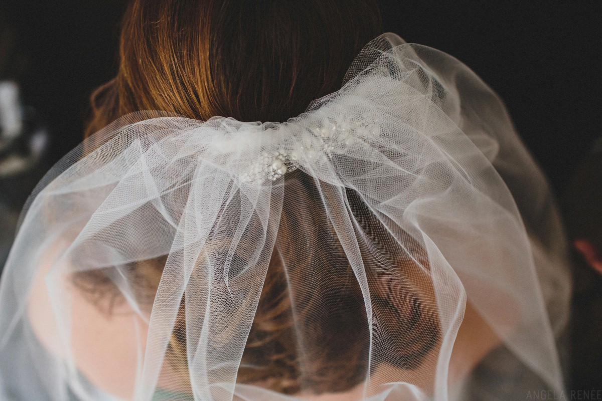 above-view-of-brides-veil