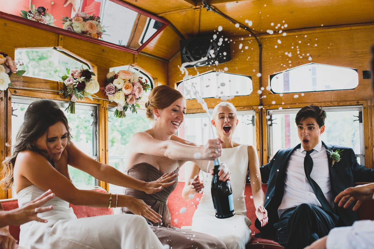 champagne-toast-on-trolley