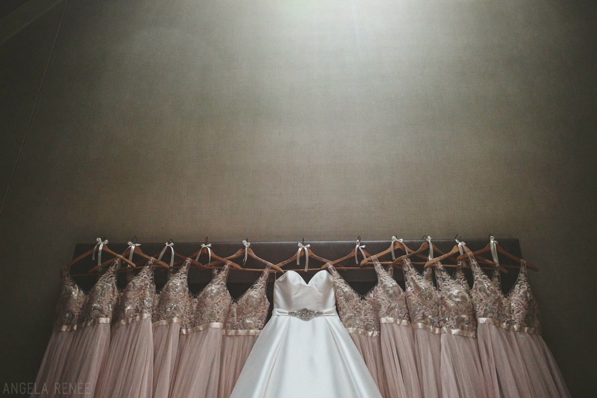 bridesmaids-dresses-hanging