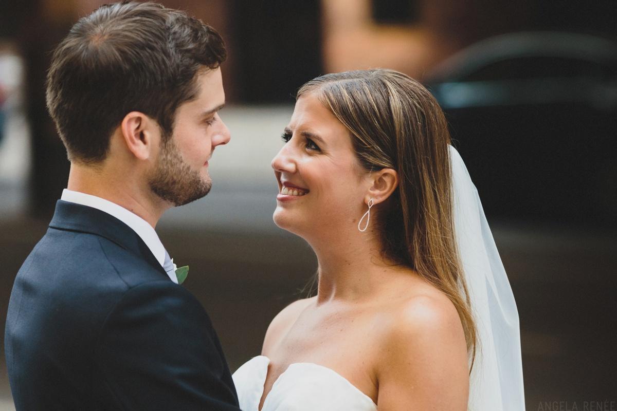 bride and groom unposed portraits