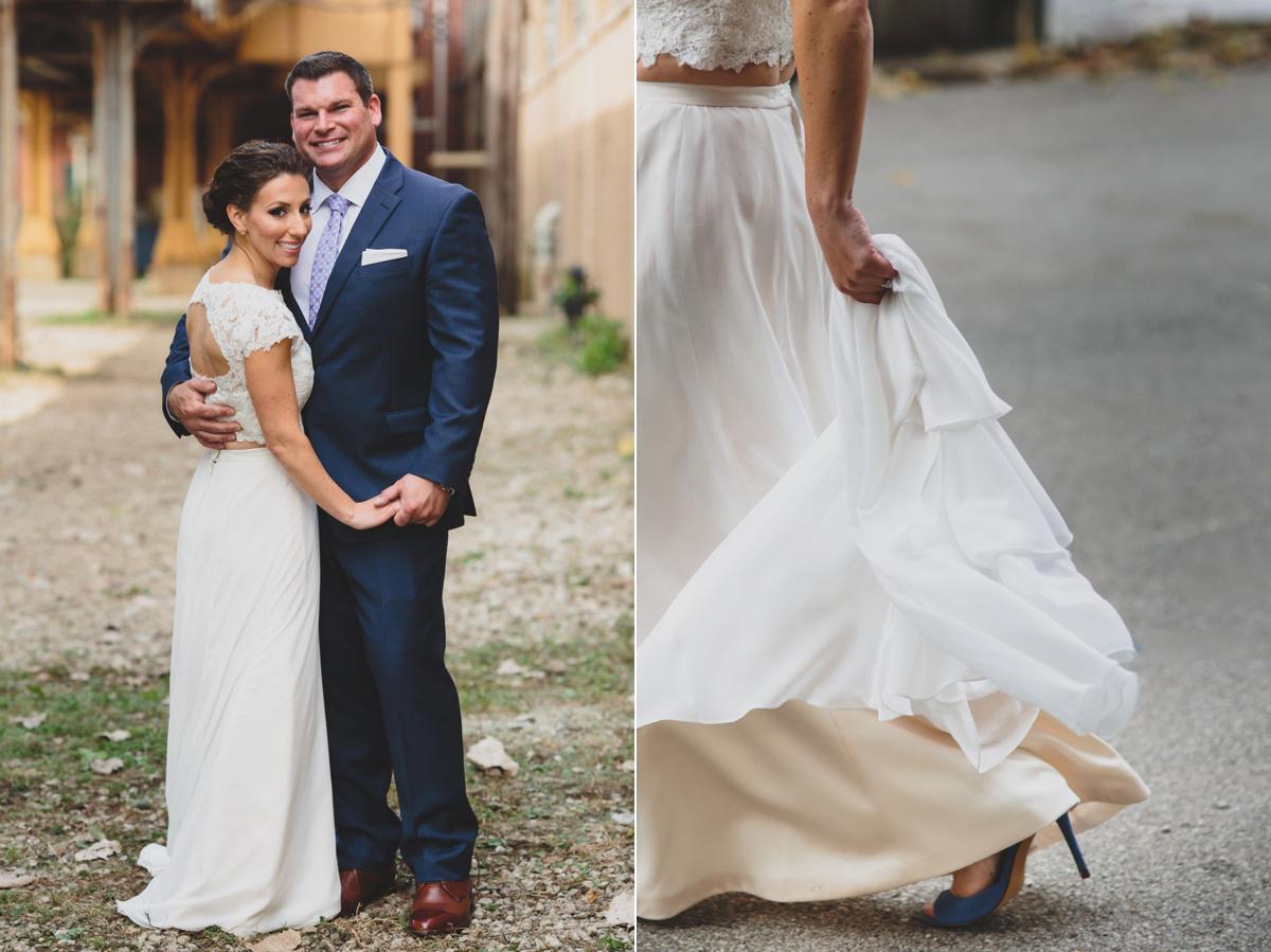 urban wedding day photos