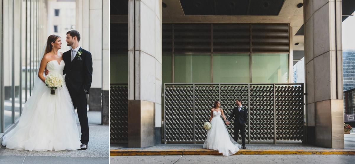 creative wedding day photography