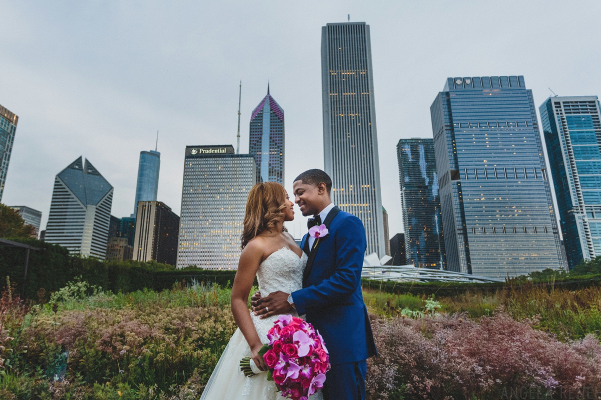 wedding pictures lurie garden