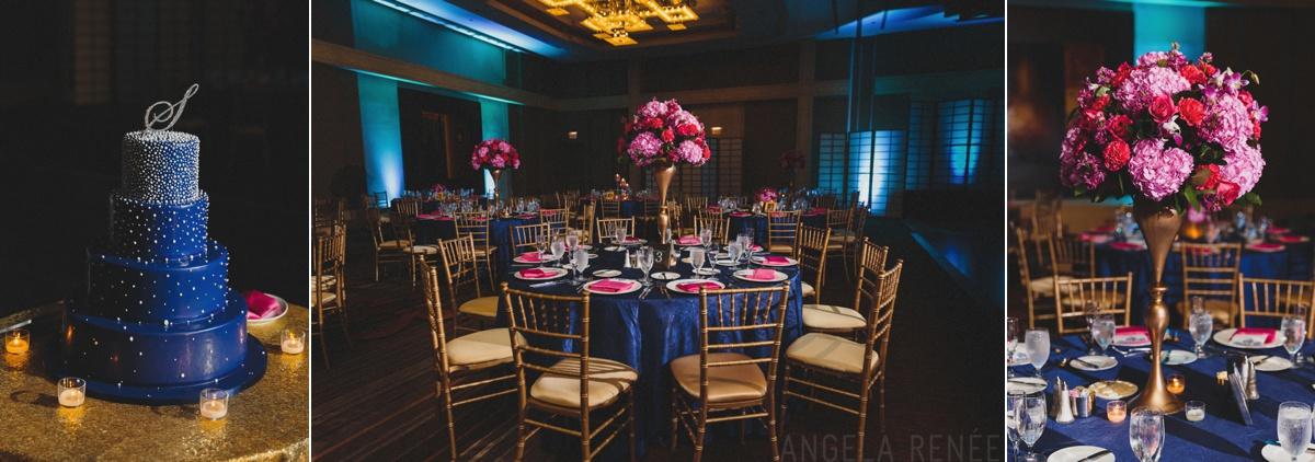 westin river north wedding reception