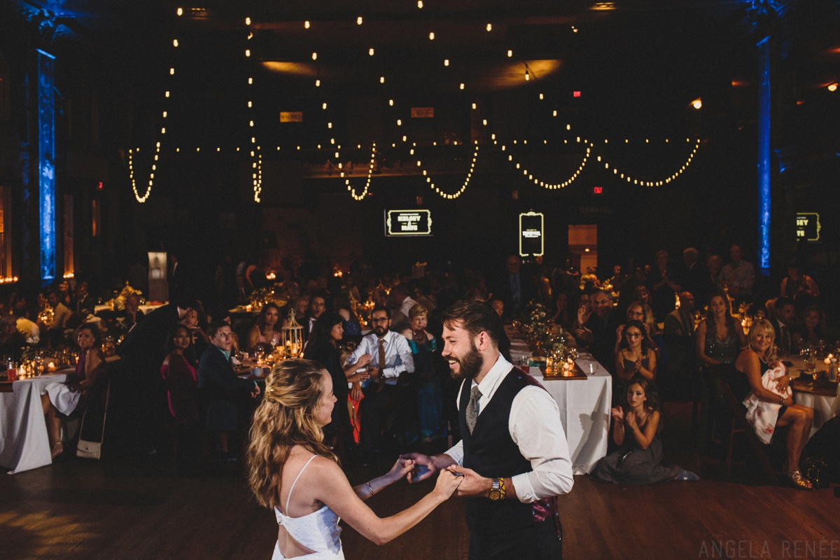 turner hall ballroom wedding first dance