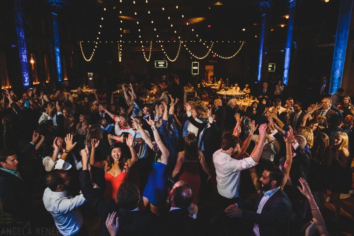 turner hall ballroom wedding day