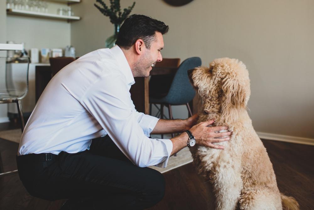 groom-and-dog