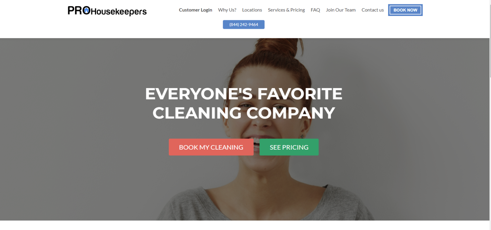 prohousekeepers.com