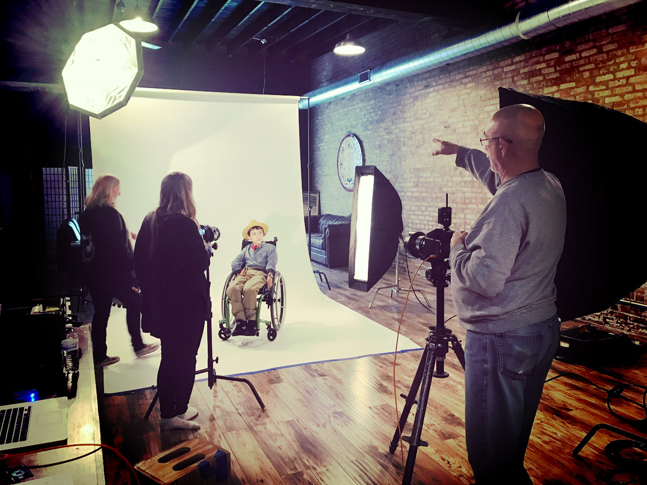 photography production in Chicago