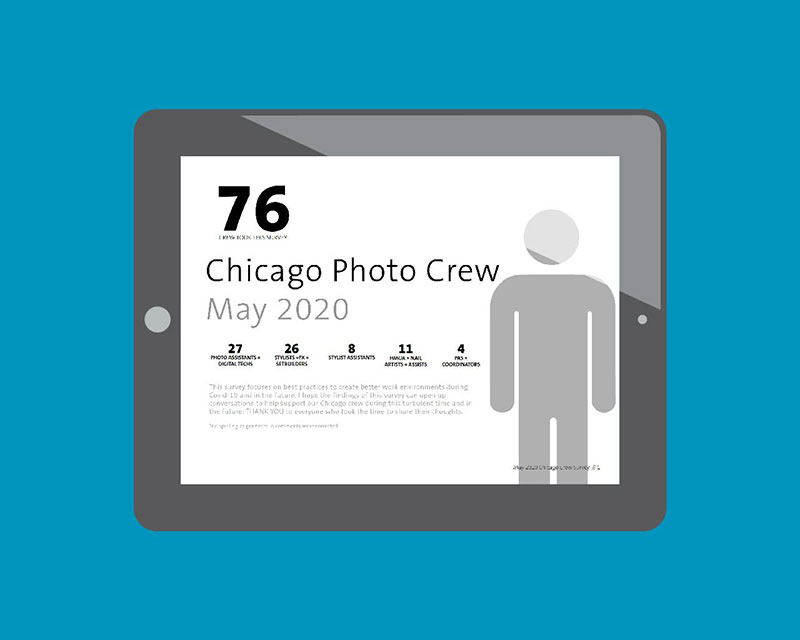 Chicago photography crew covid survey May 2020