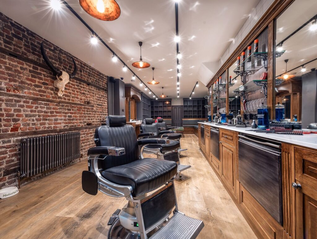 Barber Chairs at Choppers Barbers London Bridge