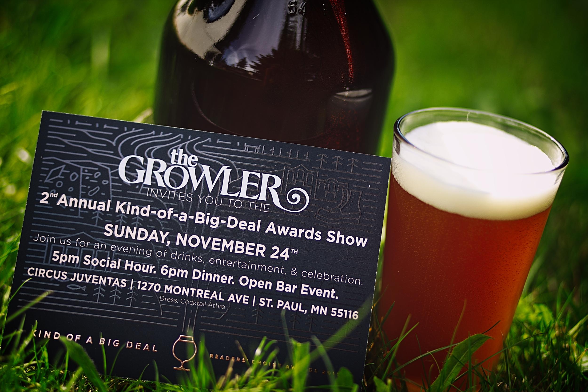 Dolan Growler Invitation