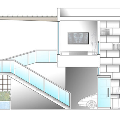 Typical Carriage Home Rendered Architectural Section 1