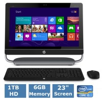 HP Envy 23 TouchSmart All In One Review & GIVEAWAY