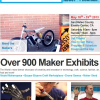 Giveaway: Tickets to Maker Faire May 18-19 (Invention + Creativity)