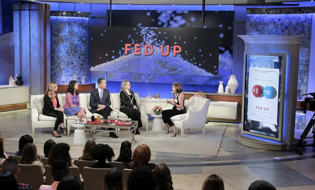 Photo Credit: Credit:  Disney/ABC.  Katie Couric Show  #2148 with Stephanie Soechtig,  Laurie David,  Dr. Mark Hyman and Dr. Margo Wootan.