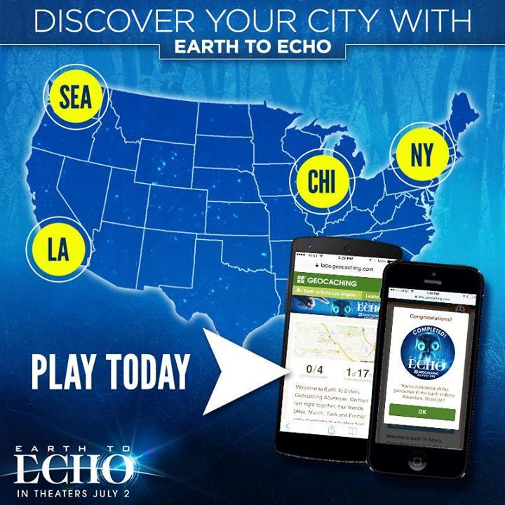 Geocache Earth to Echo