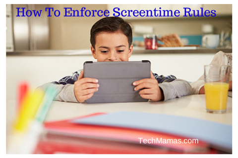 How To Enforce Tablet Screentime Rules For Kids
