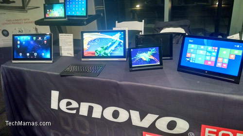 Lenovo at Pepcom