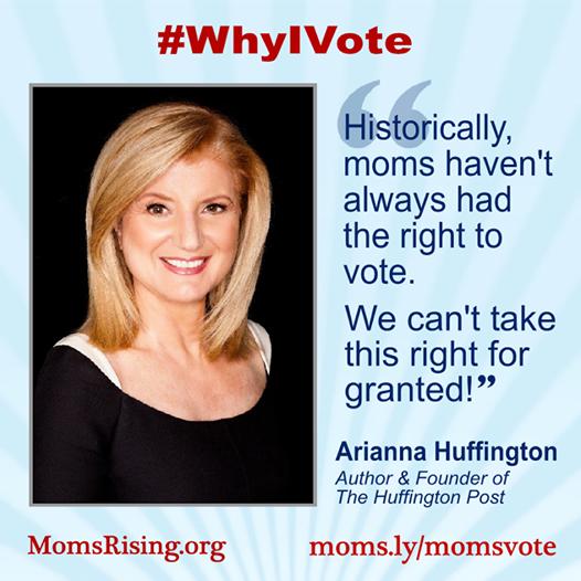 Moms Rising #WhyIVote