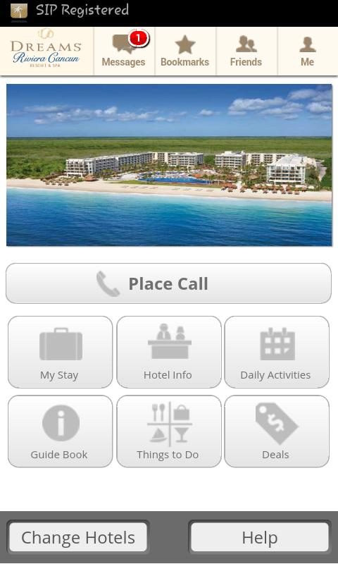 Dreams Rivieria Cancun Unlimited Connectivity App