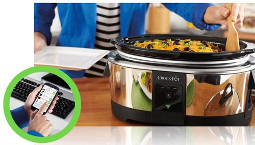Crock-Pot® Smart Slow Cooker with WeMo  Belkin