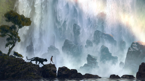 Disney's The Jungle Book Conceptual Artwork ©Disney 2015 All Rights Reserved.