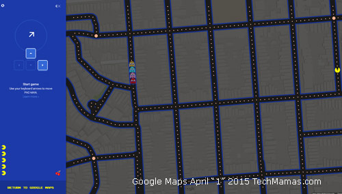 April Fools 2015 Google Maps