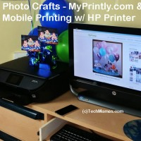 How To: Mobile Photo Printing and MyPrintly.com Photo Crafts