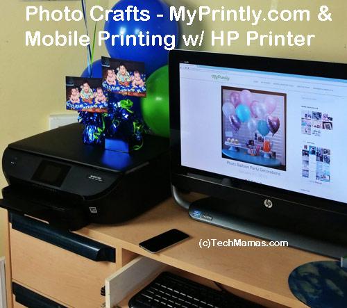 Photo Crafts MyPrintly.com and Mobile Printing HP Printer