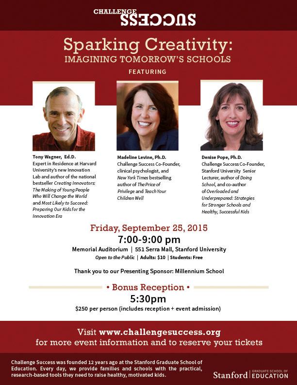 ChallengeSuccess.org Sparking Creativity Event