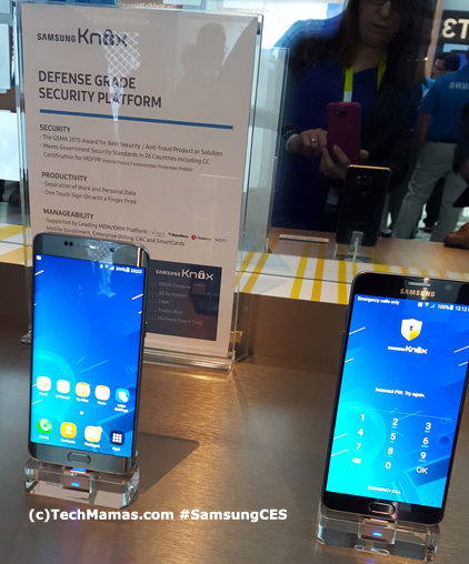 Samsung Knox Security #CES #CES2016