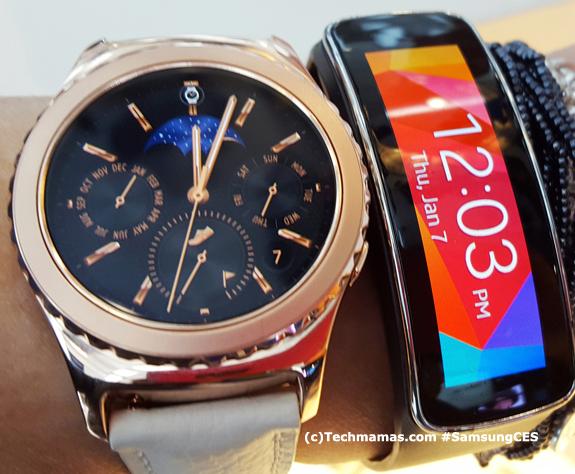 Samsung Gear S2 #CES #CES2016