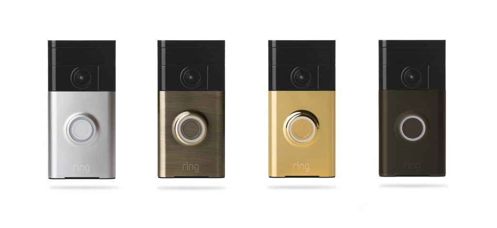 Ring Video Doorbell finishes