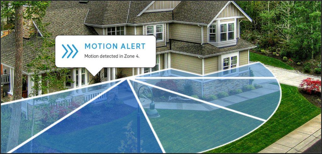 Ring Video Doorbell motion zones