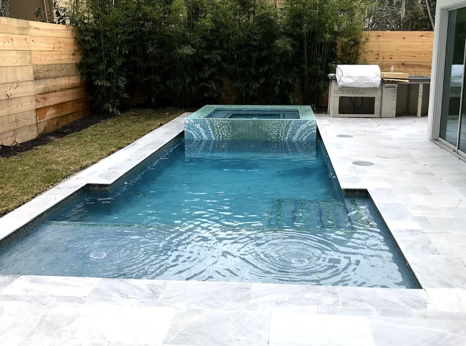 bamboo for bbq and pool areas