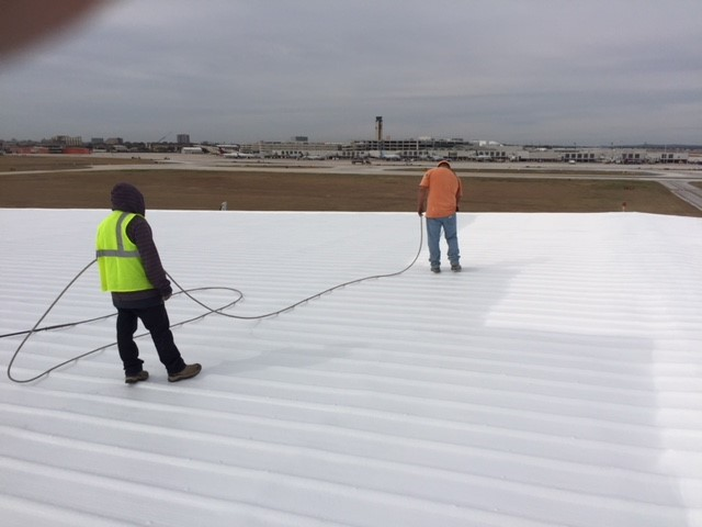 Roof coating san antonio spray foam seguin foam insulation san antonio