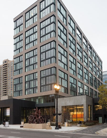 brick apartments