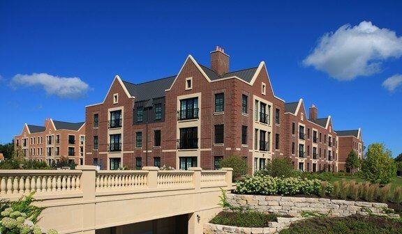 brick block apartments