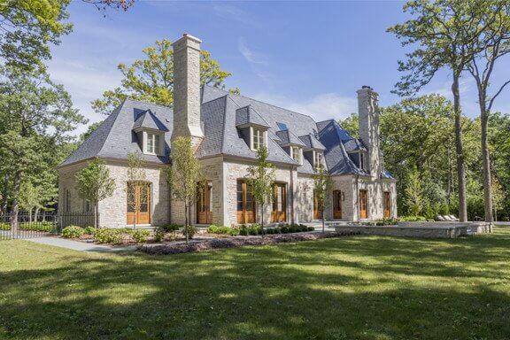 stone home design