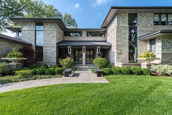 stone residential home