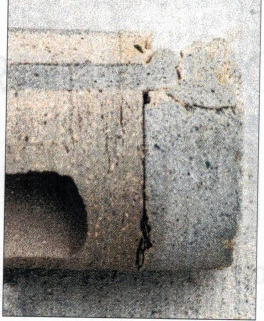 concrete collar joint