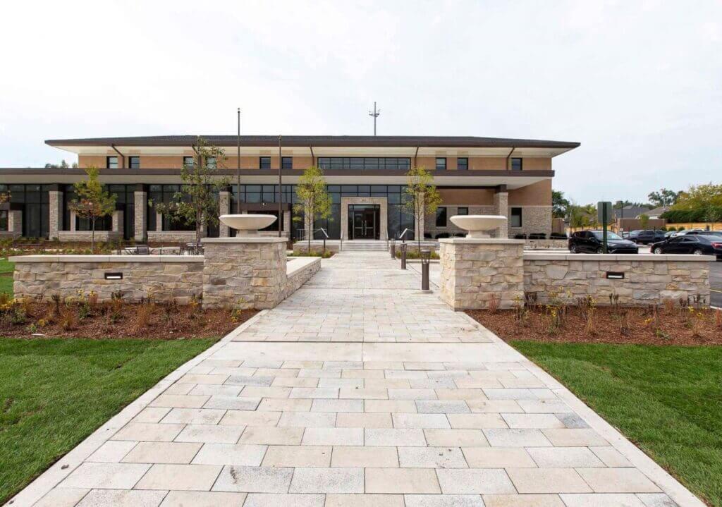 brick government building