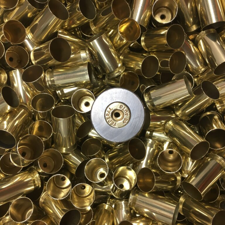 Processed 45 ACP Reloading Brass