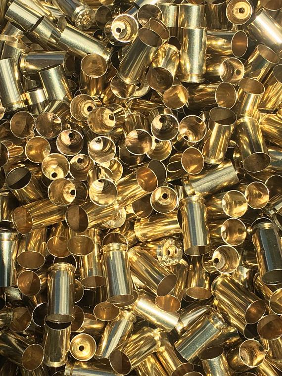 processed 40 reloading brass
