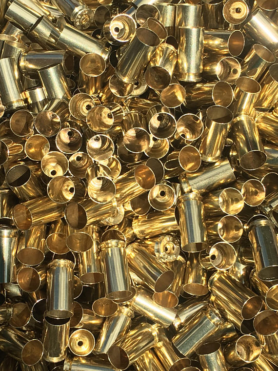 processed 40 reloading brass