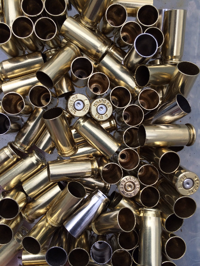 38 Super once fired reloading brass